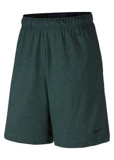 "Nike Men's 9"" Dri-fit Cotton Jersey Training Shorts"