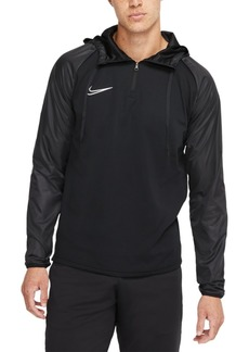 Nike Men's Academy Repel Dri-fit Quarter-Zip Soccer Hoodie