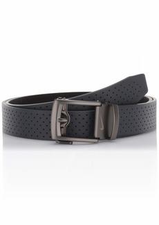 NIKE Men's ACU Fit Ratchet Belt Dark Grey - perforated