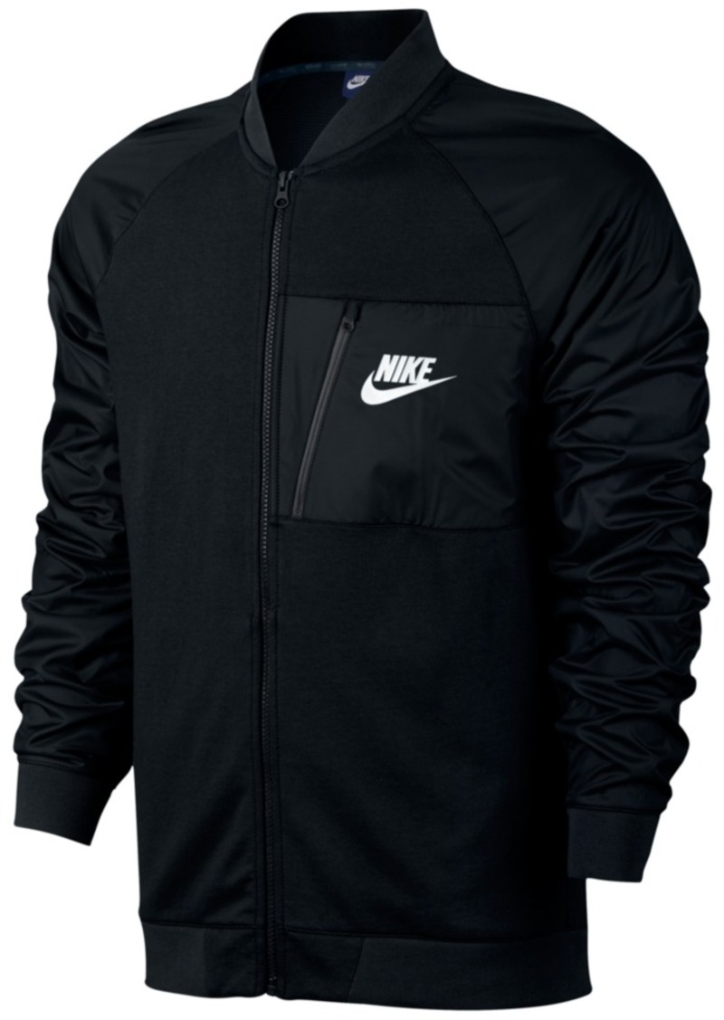 975ddcbb47a Nike Nike Men's Advance 15 Fleece Bomber Jacket | Outerwear