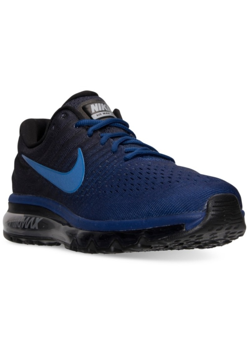 Nike Nike Men's Air Max 2017 Running Sneakers from Finish ...