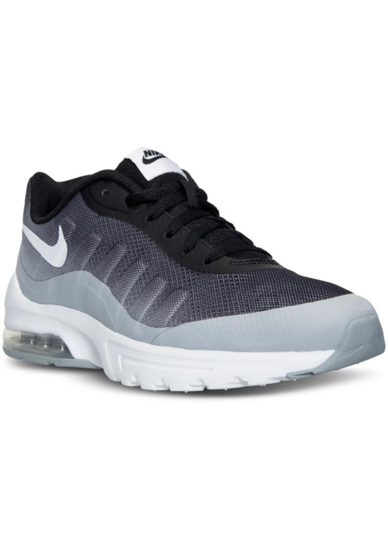 uk availability c8b0f 0c32c Men s Air Max Invigor Print Running Sneakers from Finish Line. Nike