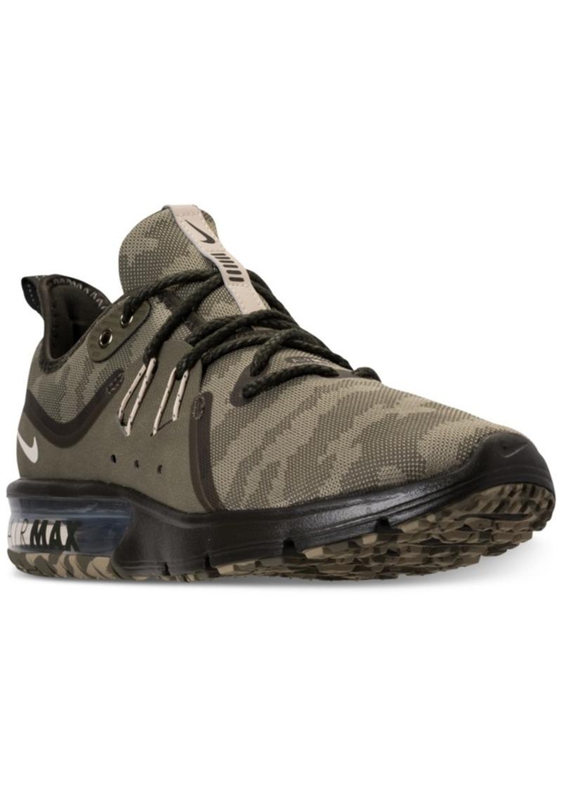Nike Air Max Sequent 3 Premium Camo Shoes Running