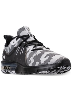 Nike Men's Air Max Sequent 3 Premium Camo Running Sneakers