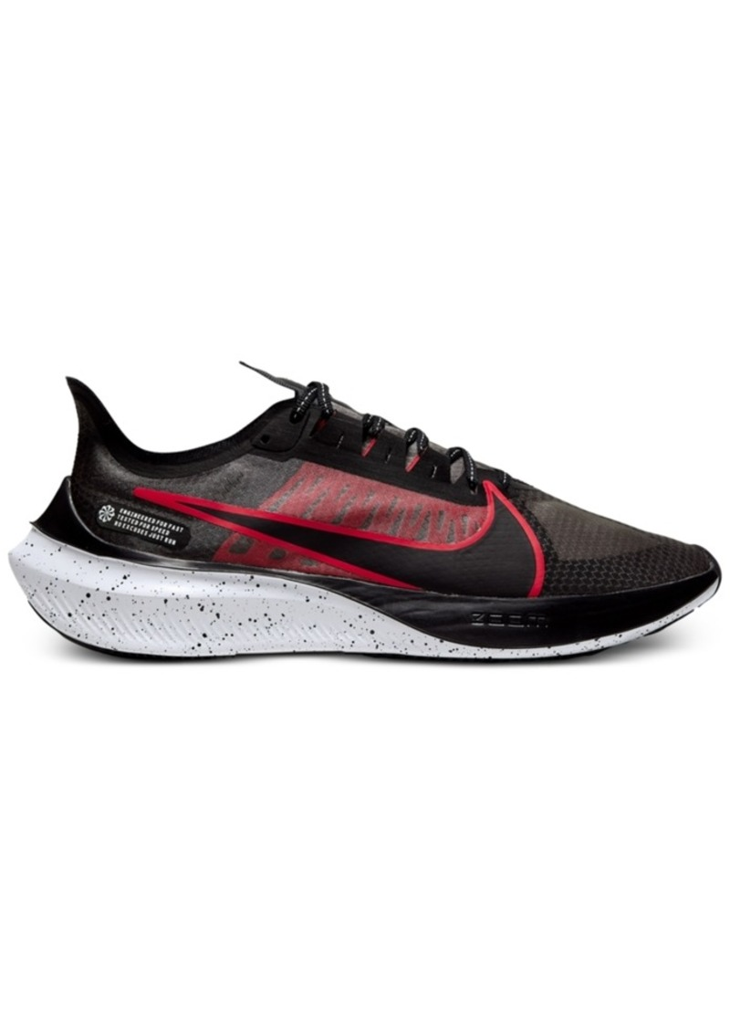Nike Men's Air Zoom Gravity Running Sneakers from Finish Line