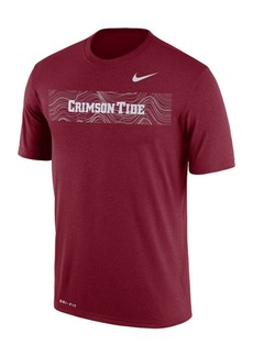 Nike Men's Alabama Crimson Tide Legend Staff Sideline T-Shirt