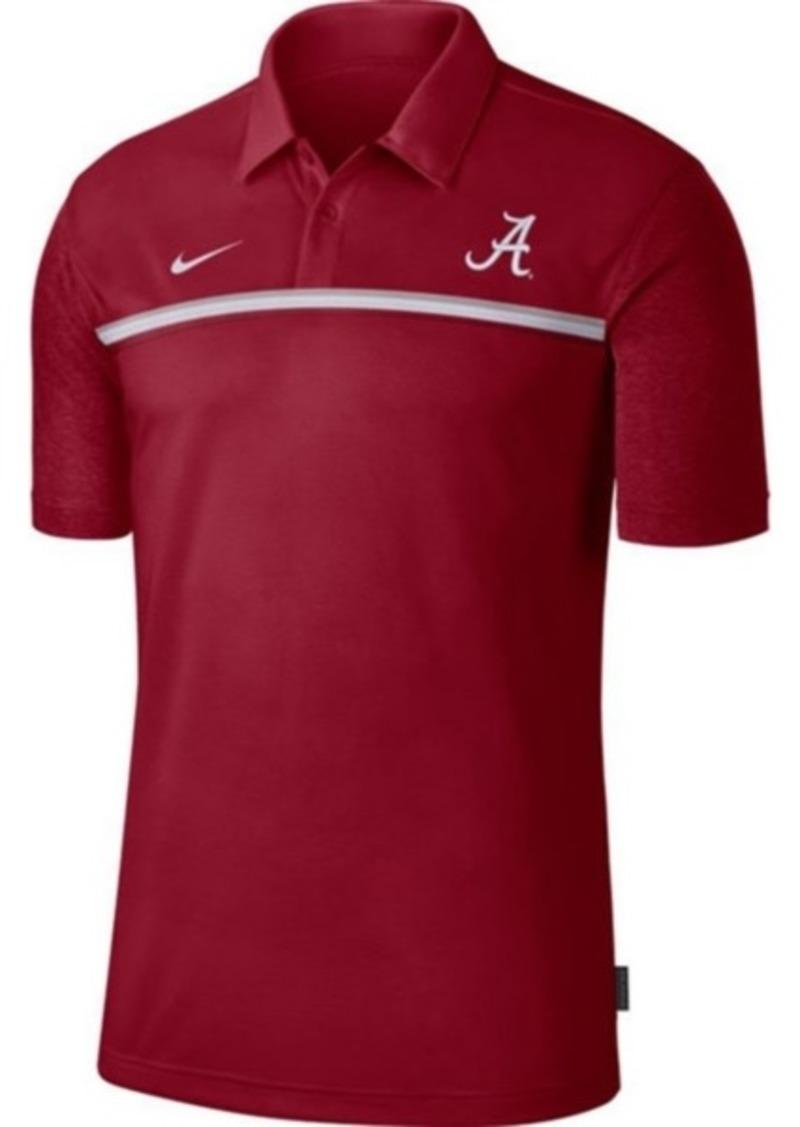 Nike Men's Alabama Crimson Tide Sideline Coaches Polo