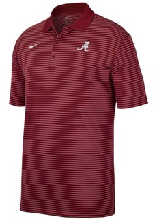Nike Men's Alabama Crimson Tide Stadium Stripe Polo