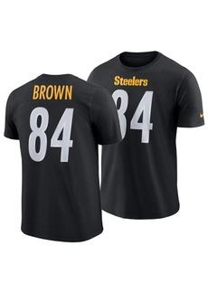 Nike Men's Antonio Brown Pittsburgh Steelers Player Pride Name and Number T-Shirt