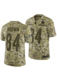 Nike Men's Antonio Brown Pittsburgh Steelers Salute To Service Jersey 2018