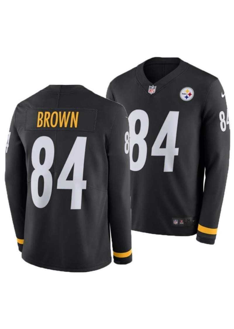 online store 5ccfa 63d7f Men's Antonio Brown Pittsburgh Steelers Therma Jersey