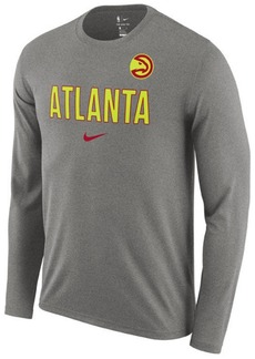 Nike Men's Atlanta Hawks Essential Facility Long Sleeve T-Shirt