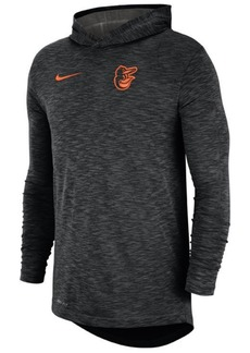 Nike Men's Baltimore Orioles Dry Slub Hooded T-Shirt