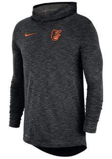 Nike Men's Baltimore Orioles Dry Slub Hooded T-Shirt
