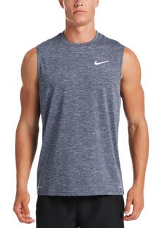 Nike Men's Big & Tall Men's Dri-fit Upf 40+ Heathered Sleeveless Rash Guard