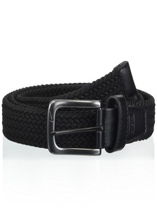 Nike Men's Big and Tall G-Flex Woven Stretch Golf Belt black