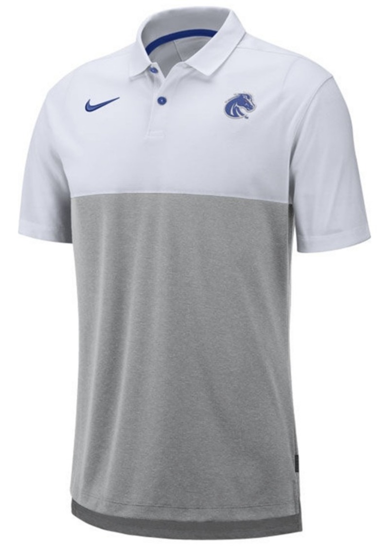 Nike Men's Boise State Broncos Dri-Fit Colorblock Breathe Polo