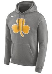 Nike Men's Boston Celtics Earned Edition Logo Essential Hoodie