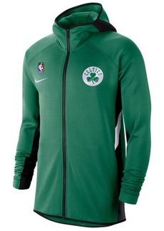 Nike Men's Boston Celtics Thermaflex Showtime Full-Zip Hoodie