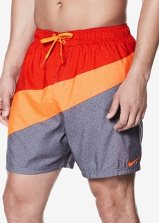 "Nike Men's Breaker Colorblocked 5-1/2"" Volley Trunks"