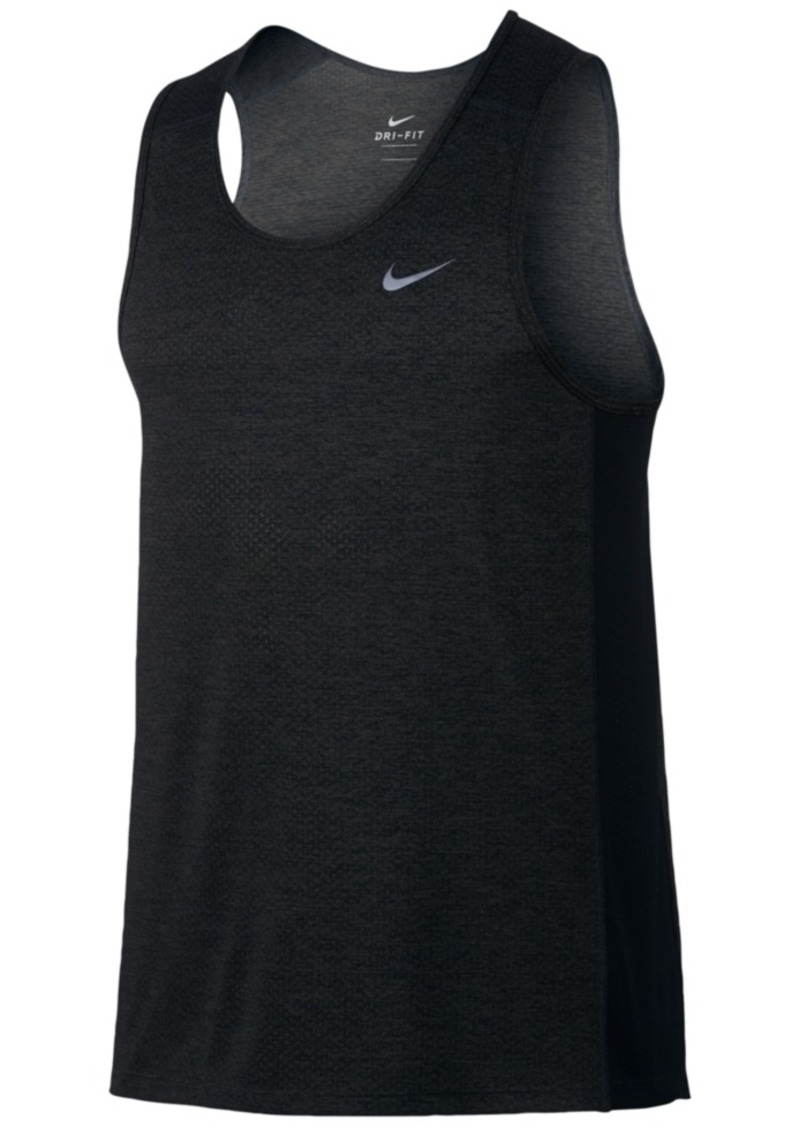 486fb458b0abf On Sale today! Nike Nike Men s Breathe Miler Running Tank Top