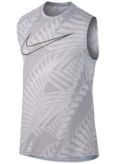 Nike Men's Breathe Printed Running Tank Top