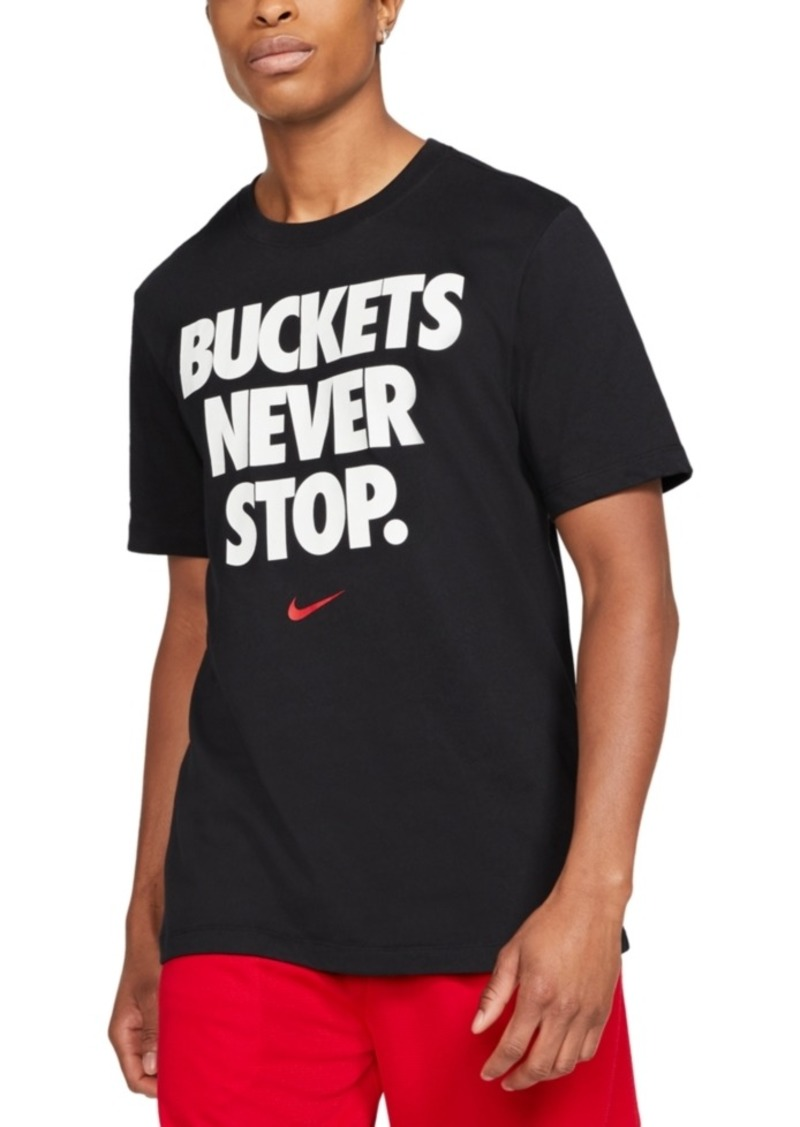 Nike Men's Buckets Dri-fit Graphic T-Shirt