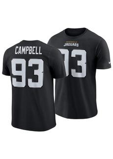 Nike Men's Calais Campbell Jacksonville Jaguars Pride Name and Number Wordmark T-Shirt