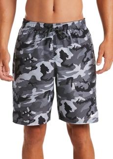 "Nike Men's Camouflage 9"" Swim Trunks"