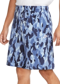 Nike Men's Camouflage Fleece Shorts