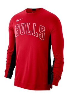 Nike Men's Chicago Bulls Dry Top Long Sleeve Shooter Shirt