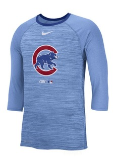 Nike Men's Chicago Cubs Velocity Raglan T-Shirt