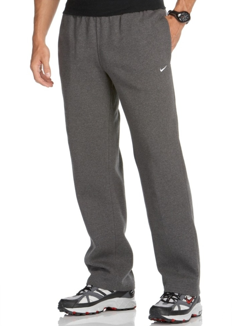 Classic Sweatpants for Men Abercrombie & Fitch classic sweatpants are crafted to be the softest, most comfortable you'll ever own. This classic, relaxed fit features a soft elastic waistband with drawstring ties and side-entry pockets for comfort and convenience.