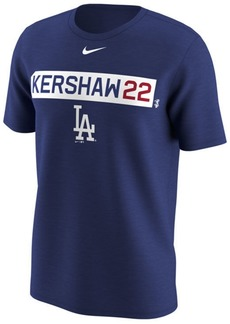 Nike Men's Clayton Kershaw Los Angeles Dodgers Legend Player T-Shirt