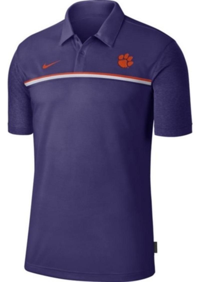 Nike Men's Clemson Tigers Sideline Coaches Polo