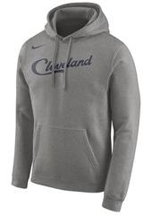Nike Men's Cleveland Cavaliers Earned Edition Logo Essential Hoodie