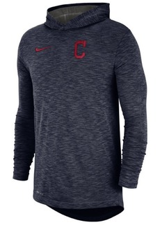 Nike Men's Cleveland Indians Dry Slub Hooded T-Shirt