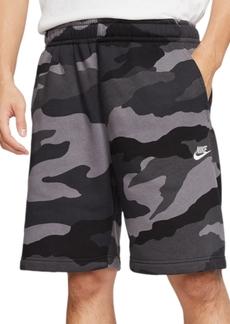 Nike Men's Club Fleece Camo Shorts