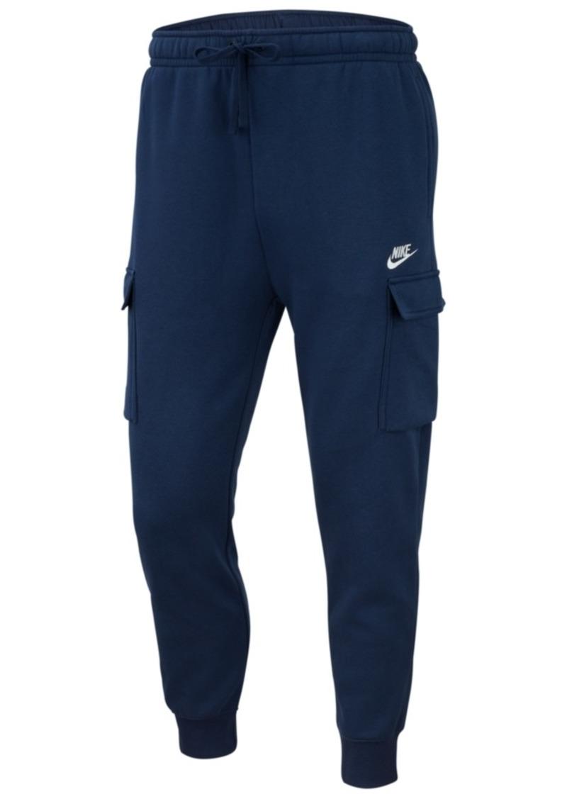 Nike Men's Club Fleece Cargo Joggers