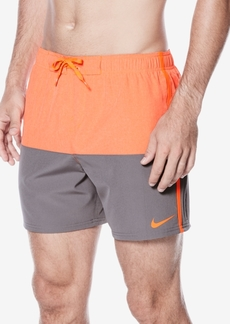 """Nike Men's Colorblocked Split Volley 5-1/2"""" Swim Trunks"""