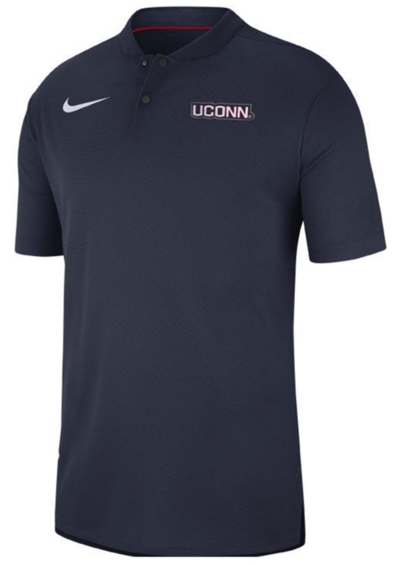 Nike Men's Connecticut Huskies Elite Coaches Polo 2018