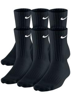 Nike Men's Cotton Crew Socks 6-Pack