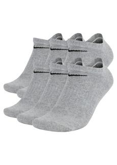 Nike Men's Cotton No-Show Socks 6-Pack