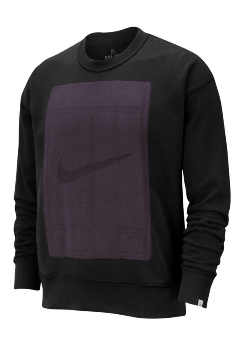 Nike Men's Court Fleece Reversible Tennis Sweatshirt