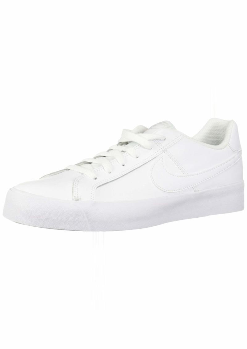 Nike Men's Court Royale AC Sneaker White-vast Grey-Gum Light Brown  Regular US