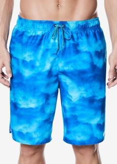Nike Men's Cumulus Printed Swim Trunks