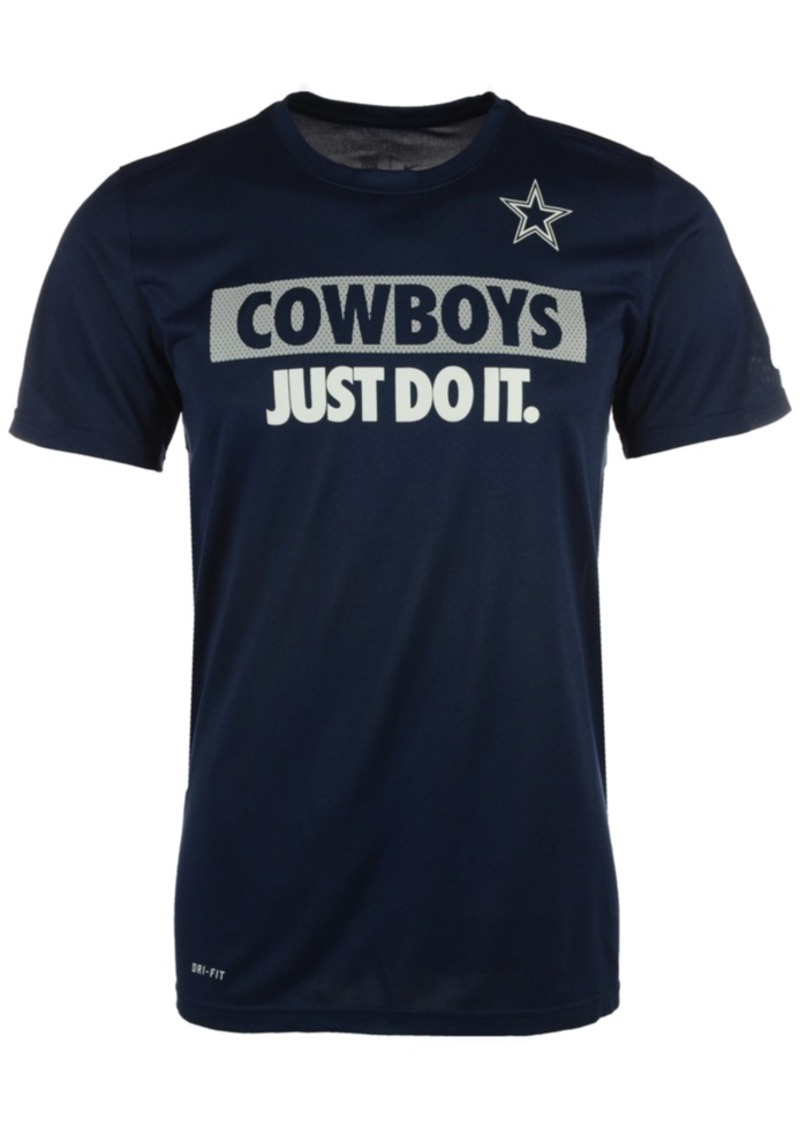 Nike Men's Dallas Cowboys Just Do It T-Shirt