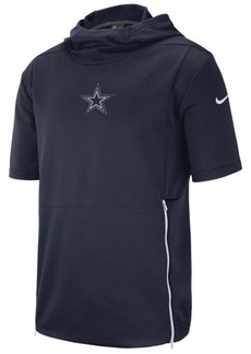 Nike Men's Dallas Cowboys Therma Top Short Sleeve Jacket