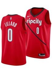 Nike Men's Damian Lillard Portland Trail Blazers Earned Edition Swingman Jersey