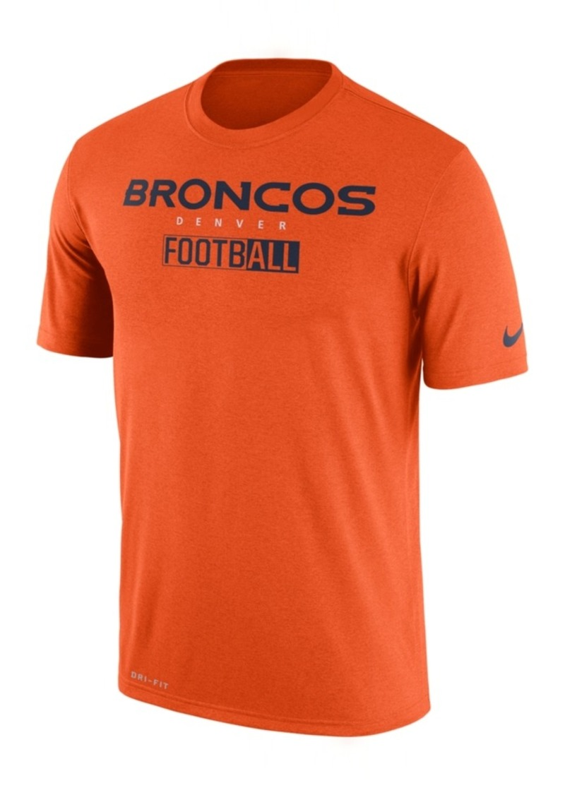 Nike Men's Denver Broncos All FootbALL Legend T-Shirt